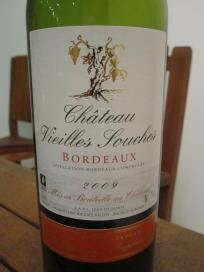 And this very decent easy drinking Bordeaux AC was just the right accompaniment to the duck confit