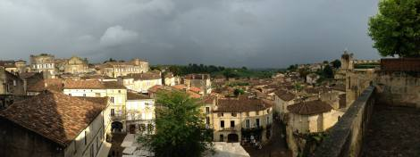 Panoramic view of Saint-Emilion