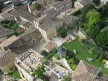 View of Hostellerie de la Plaisance - the most luxurious accommodation and restaurant in Saint-Emilion