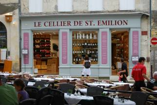And it's all about WINE in St. Emilion..