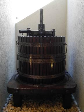 An old wine press