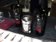 And sooner or later you find yourself at the tasting bar.. with a portfolio of 11 wines to sample