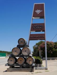 Arrived at Vigne Surrau winery in North-East of Sardinia, not far from Porto Cervo. It is a beautiful property with surrounding vineyards, winery and modern hospitality area. I absolutely recommend to visit them when in the area