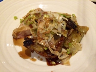 Partridge, crispy potato, shallot, romanesco, hazelnut