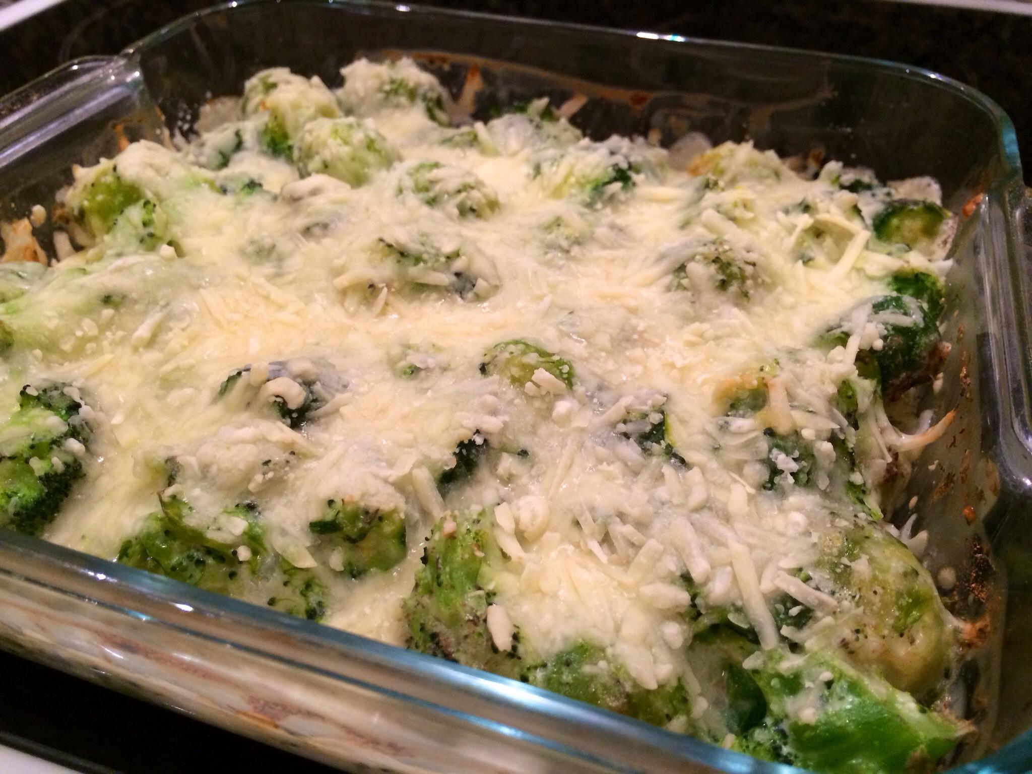 Green veg bake 1