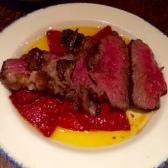 Entraña de ternera Char grilled hanger steak