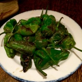 Pimientos de Padrón (Pan Fried Padron peppers)