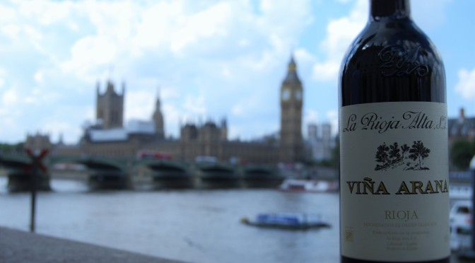 SweervyWine & The City: Vol. 1 – London & La Rioja Alta