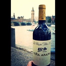 First things first - Vina Arana & Mr. Big Ben, the symbol of London