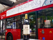 When a London bus knows what's best for your wine