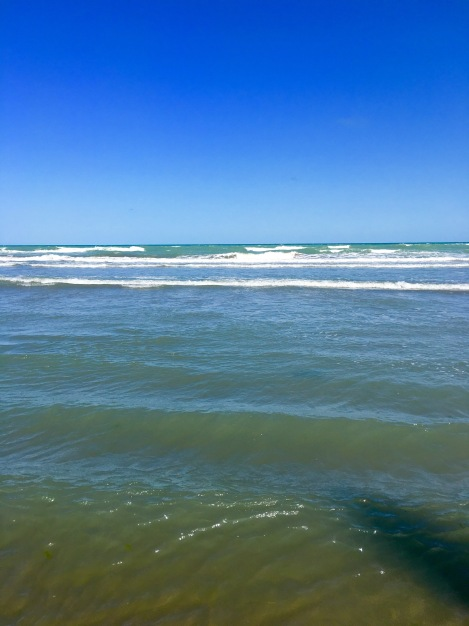 The Caspian Sea...