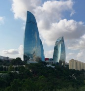 The Flame Towers of Baku
