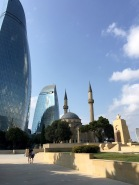 The Flame Towers & Shahidlar Mosque
