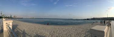 Baku Boulevard panorama