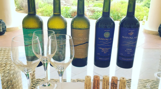 Savalan wines from Azerbaijan on tasting