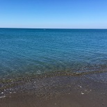 Clear waters of Tyrrhenian Sea