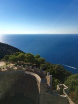 Stunning views from the Populonia Castle Tower