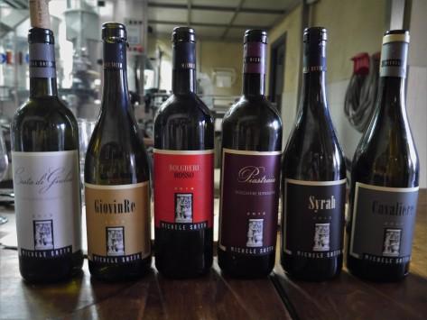 wine tasting Michele satta