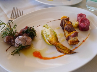 Meat tasting Osteria Magona