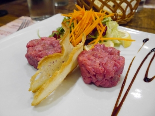 Beef Tartar Enoteka Tognoni