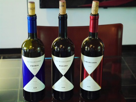 Ca'Marcanda wine tasting