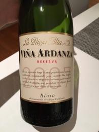 2007 Vina Ardanza La Rioja Alta